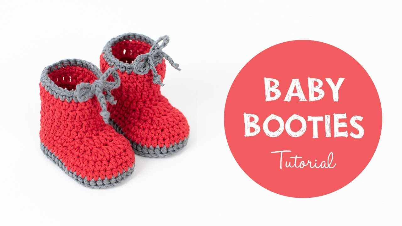 How To Crochet BABY BOOTIES For