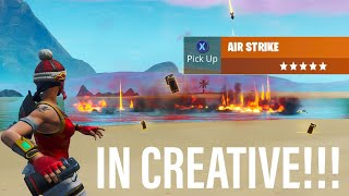 Get NEW *AIR STRIKE GRENADE* IN CREATIVE Using THIS Method!!