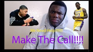 Call Anthony Davis! Los Angeles Lakers Vs Atlanta Hawks[Highlights Reaction]