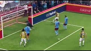 Serhat Akın'ın Golü | 4 Büyükler Salon Turnuvası | Fenerbahçe 4 - Trabzonspor 4 | (06.01.2016)