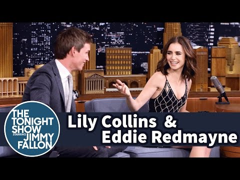 Lily Collins and Eddie Redmayne's 10-Year Friendship Began in Her Backyard