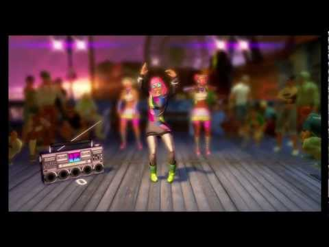 Dance Central Lady Gaga, 'just dance'. HD