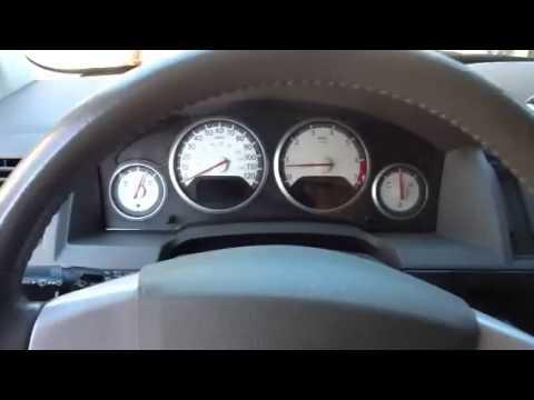 Instrument panel problem 2009 dodge grand caravan - YouTube