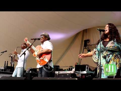 Soul of Summer feat  Jonathan Butler, Eric Darius & Maysa -Richmond Jazz Festival 2011