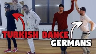 Deutsche tanzen türkischen Hochzeits Tanz (HALAY Tutorial)