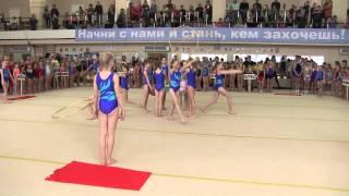 Открытие соревнований по спортивной гимнастике(27.04. 2015 г.)