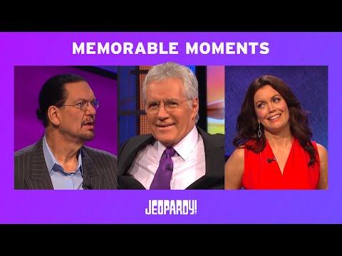 Celebrity Jeopardy!  Memorable Moments