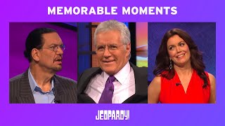 Celebrity Jeopardy! - Memorable Moments | JEOPARDY!