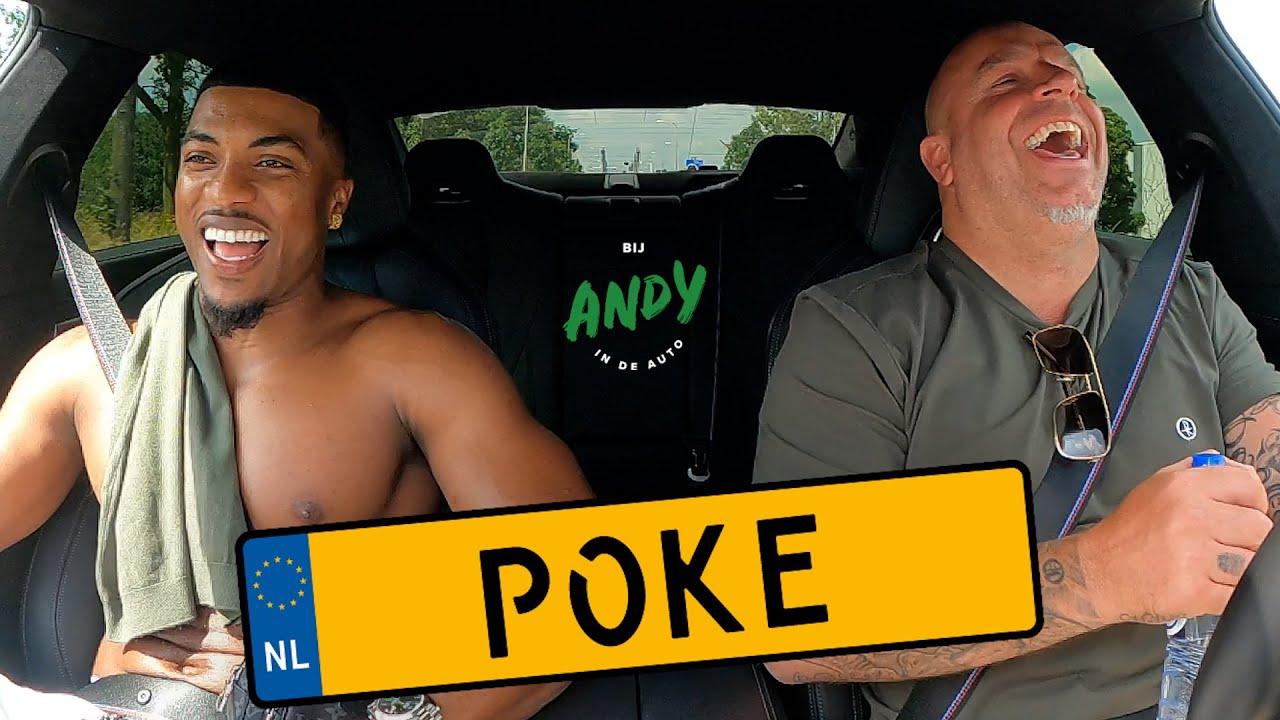 Poke – Bij Andy in de auto!