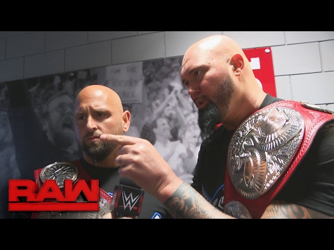 """Gallows & Anderson explain their winning strategy to all the """"nerds"""": Raw Exclusive, Feb. 6, 2017"""