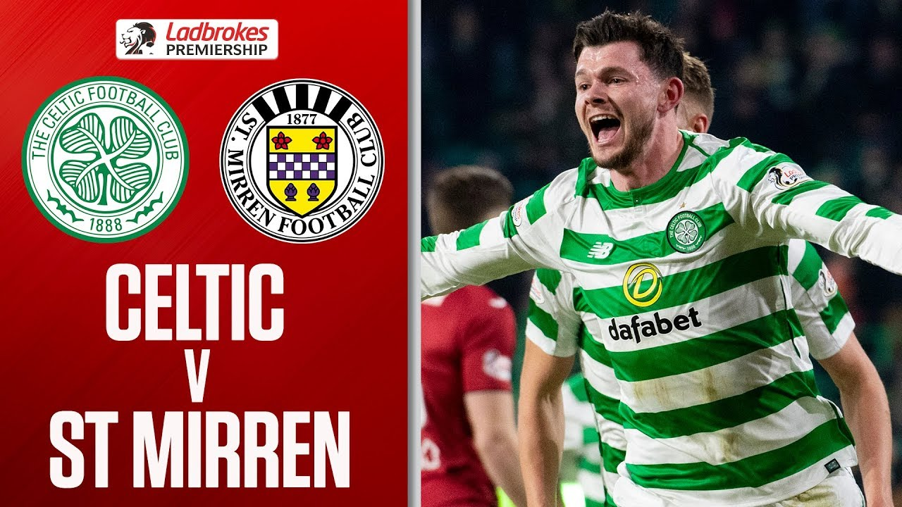 Celtic 4 0 St Mirren Burke And Weah Score On Premiership