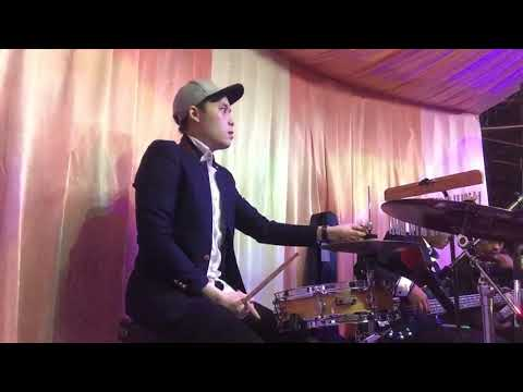 Glen Messakh - Angels brought me here (guy sebastian) - Wedding gig @ Ancol #GMdrumcam