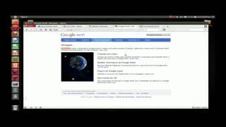 Como baixar e instalar Google Earth para Linux Ubuntu. (HD)