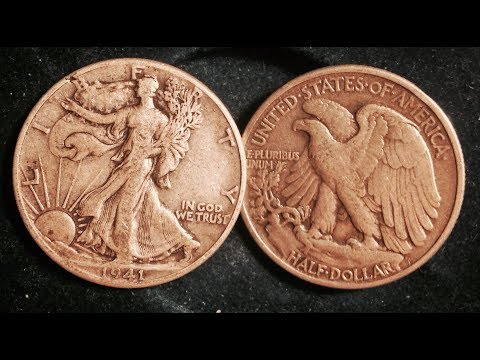 1941 And 1943 Walking Liberty Half Dollar (90% Silver)