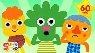This Is A Happy Face  + More Kids Songs  Super Simple Songs