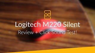 Logitech M220 Silent Mouse - Review + Click Sound Test!