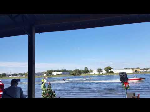 Florida Christmas Tampa Bay Water Ski Show Team