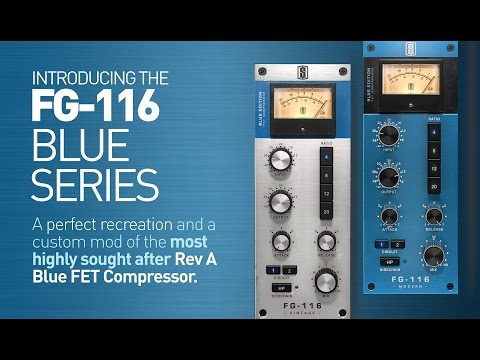 Introducing the FG-116 BLUE FET Compressors from Slate Digit