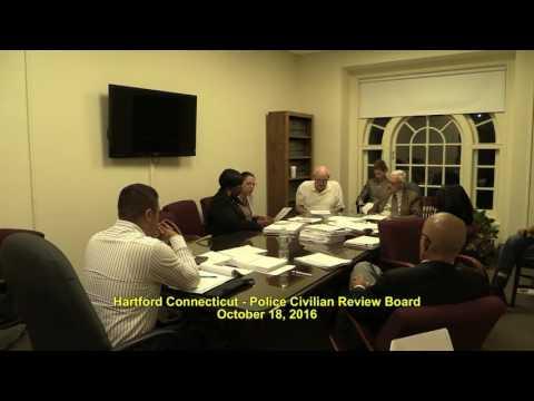 HTFD Civilian Review Board 2016.10.18