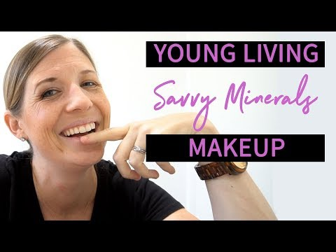 Young Living Savvy Minerals Makeup Tutorial