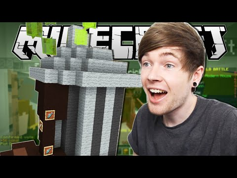 Thumbnail: Minecraft | EPIC TRASH CAN!! | Build Battle Minigame