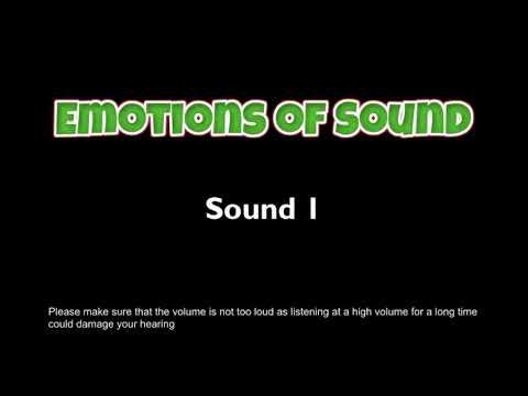 Emotions Of Sound - Sound 1