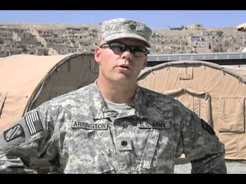 Honoring those who Serve: 10th year anniversary -  Lt. Col. Michael Arrington
