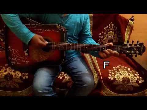 """Tera Zikr"" Song Of DARSHAN RAVAL/Easy Guitar Chords/Lesson/Tutorial"