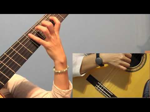 C MAJOR SCALE DAILY CLASSICAL GUITAR EXERCISE