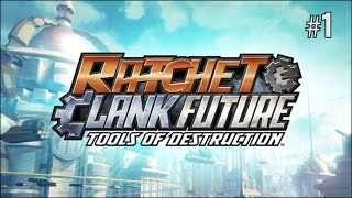 Twitch Livestream | Ratchet & Clank Future: Tools of Destruction Part 1 [PS3]