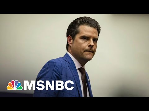 NYT: Justice Department Investigating Rep. Gaetz Over Sex Trafficking Claim   All In   MSNBC