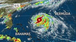 Atlantic Hurricane GERT is Massive & Moving West