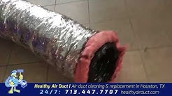 INSULATED FLEXIBLE DUCT R-8.0 | Healthy Air Duct | Houston, TX