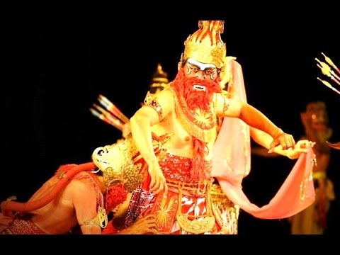 AMAZING Ramayana Ballet - SUGRIV vs VALI - Prambanan Yogyakarta Indonesia [HD]