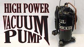 Faire une Pompe à Vide pour AC dans les Voitures, système de chauffage, ou de PLAISIR