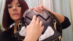 REVIEW of AIMEE KESTENBERG GOLD AND CAMO SOHO LEATHER SATCHELS PURSE HANDBAG TOTE