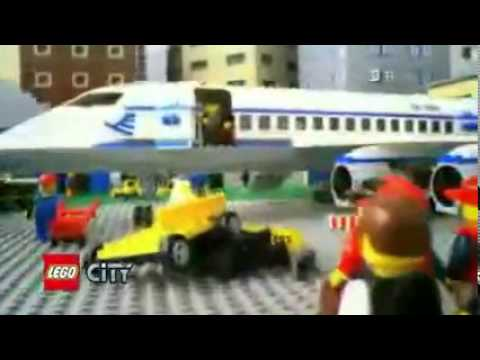 Lego City Airport 7894 Passenger Plane 7893 Youtube