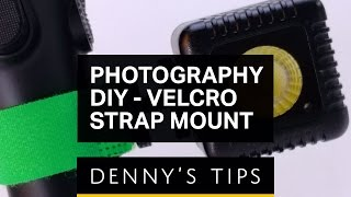 $5 DIY Velcro Mount for GoPro, LumeCube, Phones and Other Small Things