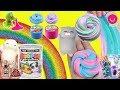 Juguetes de SLIME Poopsie, Gatitos SQUISHY, Fluffy Slime y DIY Shaker