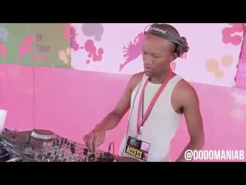 FME DJs (DeeBond) Performing At The Botswana Colour Run