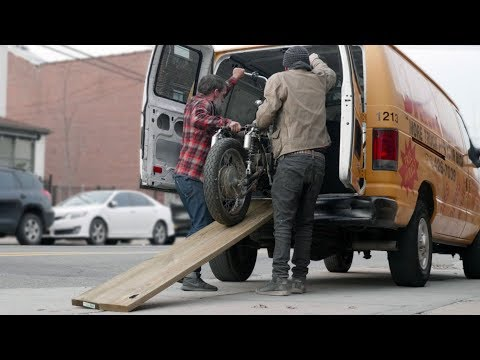 Easy Motorcycle Ramp // Becky Stern