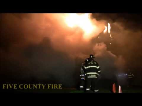 Dwelling Fire  Lehigh Township PA
