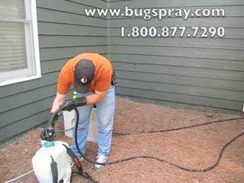Image Application and spraying of lawn.