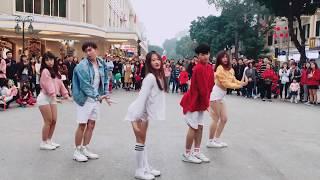 TALK TO ME - Chi Pu Nhảy Che bởi Oops! Crew, thử thách nơi công cộng.