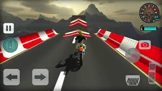 Stunt Bike Impossible Tracks Race Moto Drive Game #2 - Androi gameplay - Motor bike games for kids