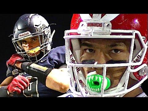 Mater Dei vs Vista Murrieta : HSFB Playoffs California - UTR Highlight Mix  2016