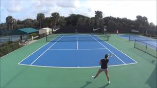 Yasemin Ada Boru - College Tennis Recruit, Fall 2018