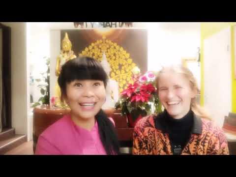 Thai Massage und Hot Stone Massage macht Menschen glücklich.#Rosethaiorganicspa #Hamburg