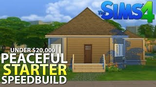 The Sims 4 House Building - Peaceful - Starter Home (under 20k)