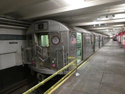 ニューヨーク交通博物館 New York Transit Museum Subway Cars